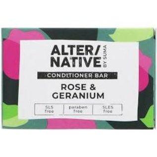 Alter/Native Conditioner Bar Rose and Geranium 95g