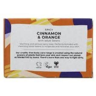 Alter/Native Handmade Soap Cinnamon and Orange 95g