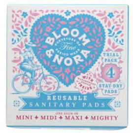 Bloom & Nora Bloom and Nora Reusable Pads 4 (Mini, Midi, Maxi & Mighty)