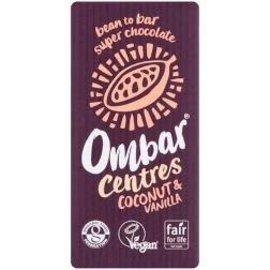 Ombar Ombar Centres Coconut & Vanilla Bar 35G