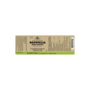 SFP Boswellia Resin Extract Vegetable Capsules 60