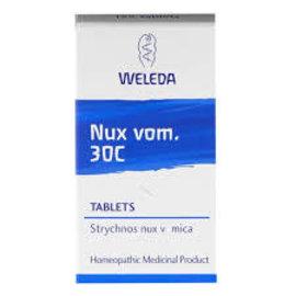 Weleda Nux Vom tablets 30C, 125 tablets
