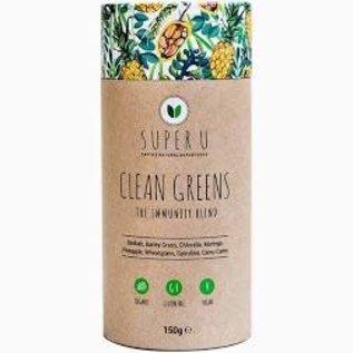 Super U Super U Clean Greens The Immunity Blend 150g