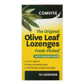 Comvita Comvita Manuka Lozenges with Olive Leaf Extract 12pk