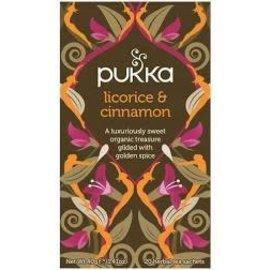 Pukka Tea Licorice & Cinnamon Energy 20 Teabags