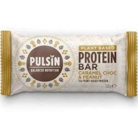 Pulsin Pulsin Protien Bar Caramel & Peanut 50g