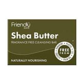 Earth Friendly Friendly Shea Butter Cleansing Bar 95g