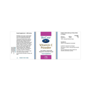 Biocare Biocare Vitamin C 250g