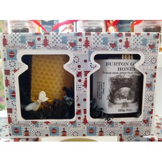 Burton Green a Honey & Candle Gift Pack