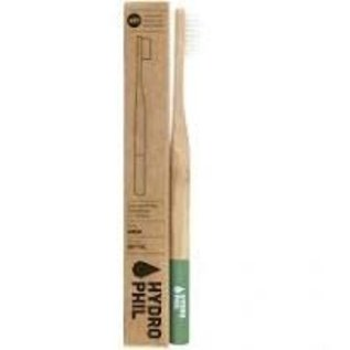 Hydrophil Hydrophil Bamboo Toothbrush Adult Green Medium
