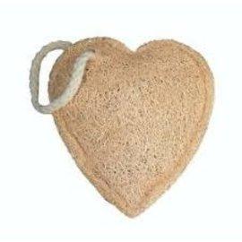 Croll & Denecke Loofah Heart Sponge