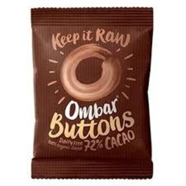 Ombar Raw Chocolate Buttons %72cacao