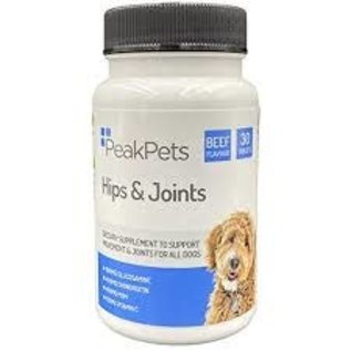 Peak pets Pets hips & joints. 30 tabs