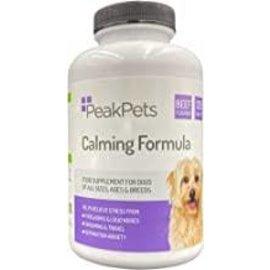 Peak pets Pets calming formula 120 tabs