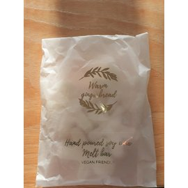 Izzy loops Vegan Soy Wax Melts Warm Ginger Bread 6 cubes