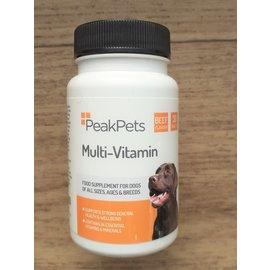 Peak pets Pets multi vits 30 tabs