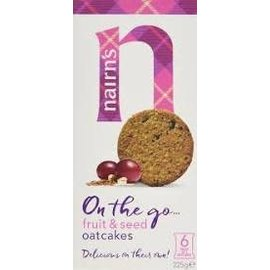 Nairns Nairns Fruit & seed oatcakes
