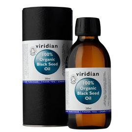 Viridian Viridian Organic black seed oil 200ml