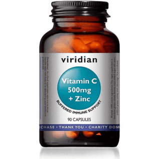 Viridian Vitamin c 500mg & zinc