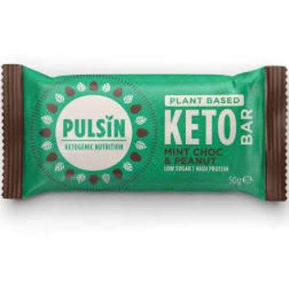 Pulsin' Pulsin Keto Bar Mint Choc Chip & Peanut 50g