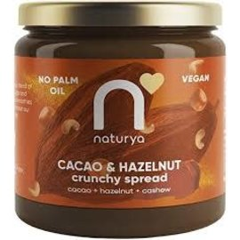 Naturya Naturya Cacao & Hazelnut Crunchy Spread Vegan 170g