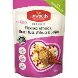 Linwoods Linwoods Organic Flaxseed, Almond, Brazil Nut, Walnut & CoQ10 200g