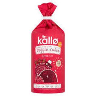 Kallo Kallo Lentil & Pea Beetroot Veggie Cakes GF Vegan 122g