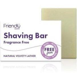 Shaving bar fragrance free