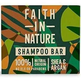 Faith In Nature Faith In Nature Shampoo Bar Shea & Argan 85g