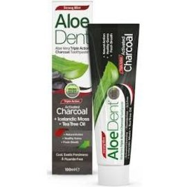 Aloe Dent Aloedent Triple Action Charcoal Toothpaste 100ml