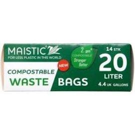 Maistic Bin Liner 20L - Compostable