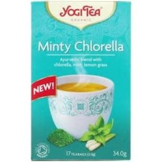 Yogi Tea Yogi Tea Minty Chlorella Thea 17 bags