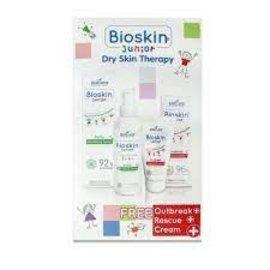 Bioskin Junior Dry Skin therapy FREE Outbreak rescue cream