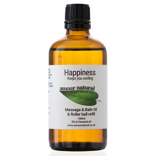 Amour Natural Amour natural Happiness massage & roller ball refill. 100ml
