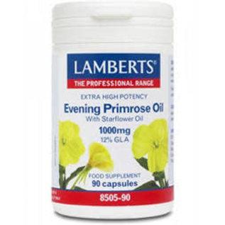 Lamberts Evening Primrose Oil with Starflower 1000mg 90 caps