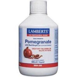 Lamberts Lamberts high strength pomegranate juice 500ml