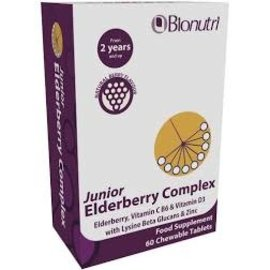 Bionutri Junior Elderberry Complex Chewable 60 tablets