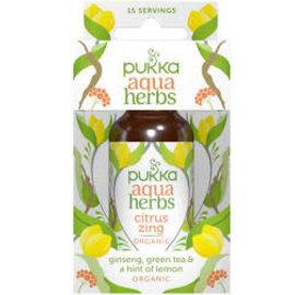 Pukka Pukka aqua herbs ginseng green tea & lemon