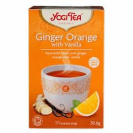 Yogi Tea Yogi Tea Ginger Orange with Vanilla Tea 17 bags
