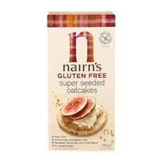 Nairns superseeded oatcakes gluten free