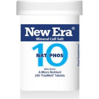 New Era New Era 10 Nat Phos  240 tablets