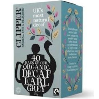Clipper Clipper organic decaf Earl grey 40 bags