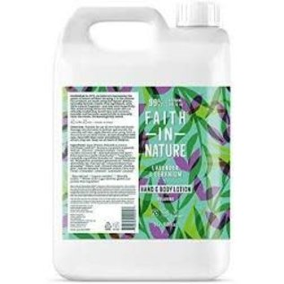 Faith In Nature Faith in Nature hand & body lotion Lavender & Geranium 5L