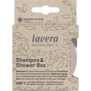 Lavera Lavera Shampoo & Shower Box  100% Recycled Material