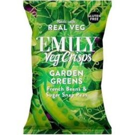 Emily Garden Greens Veg Crisps Gluten Free Vegan  80g