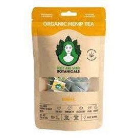 Body & Mind Botanicals Organic Ginger Hemp Tea 10 bags