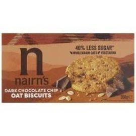 Nairns Nairns Dark Chocolate Chip Biscuits Wheat Free 200g