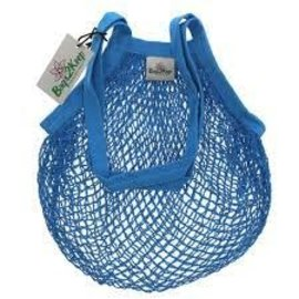 Cotton String Bag Light Blue