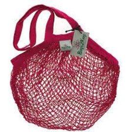 bags2keep Cotton String Bag Pink