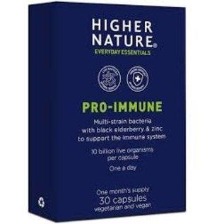 Higher Nature Higher Nature Pro- Immune  multi strain bacteria with Zinc & Black Elderberry